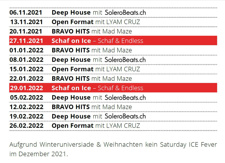REZ_Saturday Ice Fever_Programm 2021
